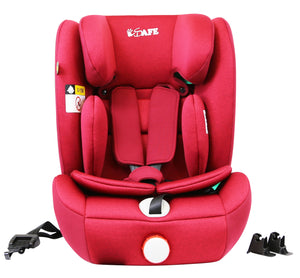 iSafe iSiZE Isofix Baby Car Seat Group 1/2/3 (Red) ECE R129/03 (Space Saver)