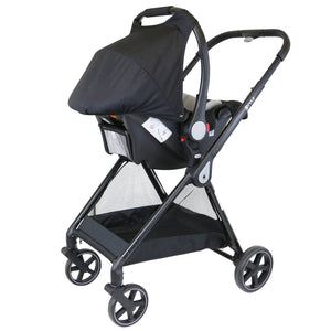 iStyle 3 in 1 Pram Travel System (Pretty Pink)