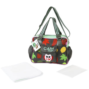 i-Safe Luxury Changing Bag - Button Owl
