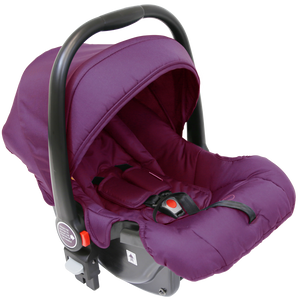 iSafe Marvel 2in1 Pram System And Car Seat - Marrone
