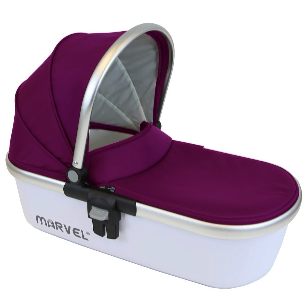 Marvel Carrycot - Plum Pearl