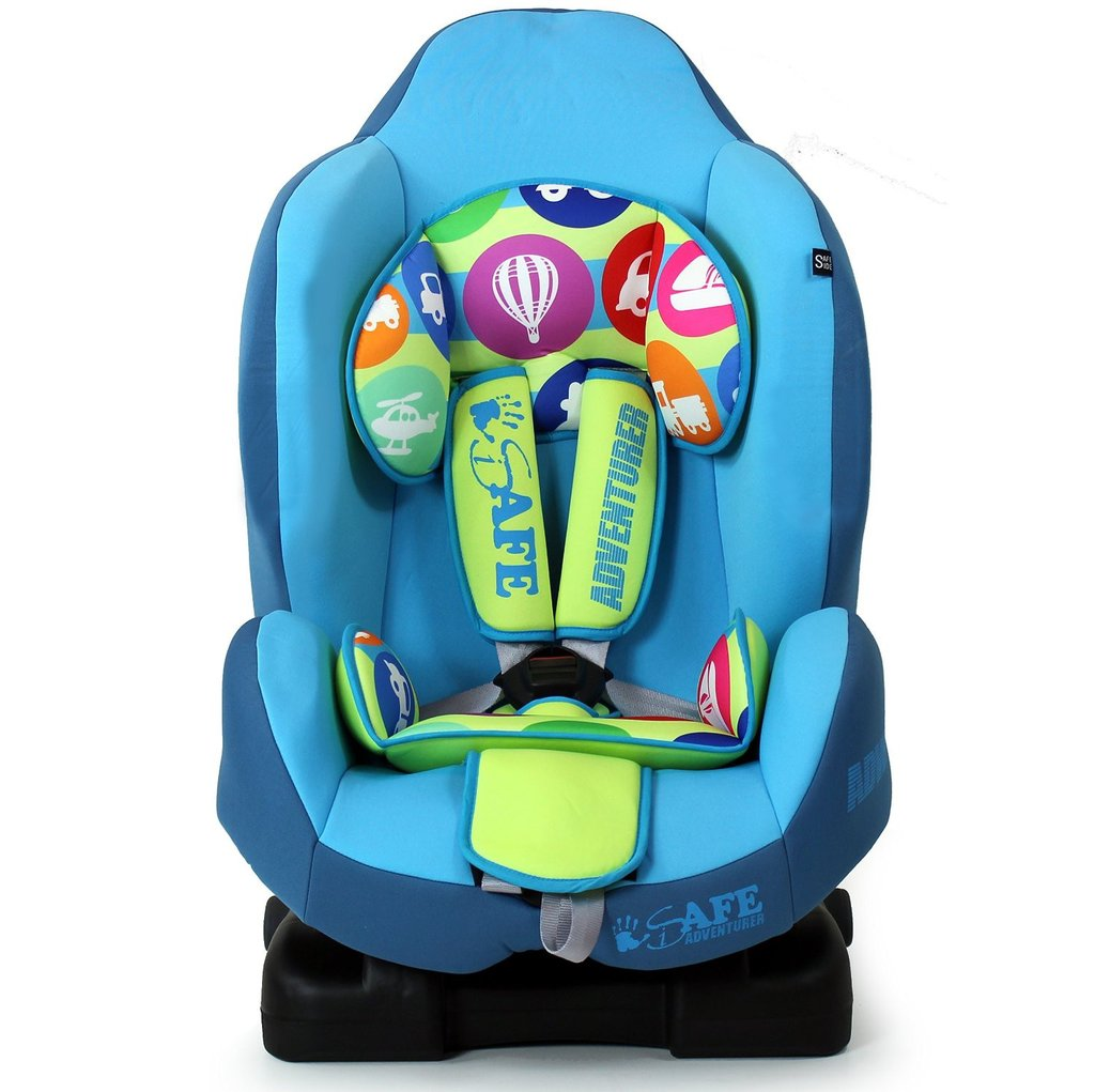 iSafe Car Seat Group 1 - Adventurer (3 in 1, ISOFIX, Top Tether, Belt Fit)