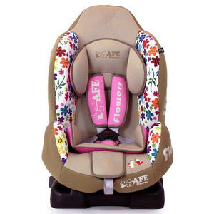 iSafe Car Seat Group 1 - Flowers (3 in 1, ISOFIX, Top Tether, Belt Fit)
