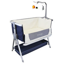 Next To ME Bedside Baby Crib Coo-sleeper (Blue Berry)