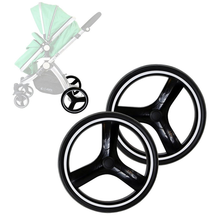 Puncture Free iSafe Pram System Set Of Rear Wheels