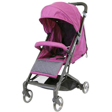 iSafe - Super MiNi Special Edition Floating Wheels Stroller - Purple (Complete With Free Rain-cover)