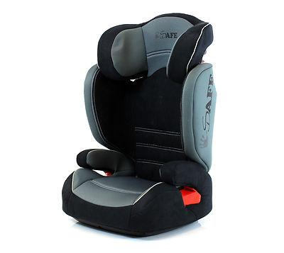 iSafe Car Seat Group 2-3 Grey (ISOFIX)
