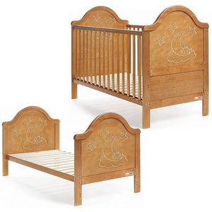 iSafe Cot Bed Toddler Bed - Wendy (x6 PCS With Teething Rails)