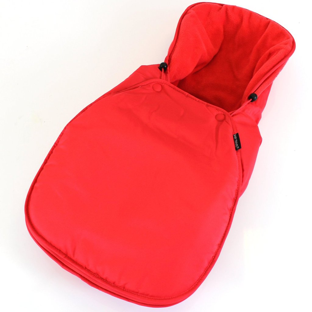 Car seat Footmuff - Warm Red