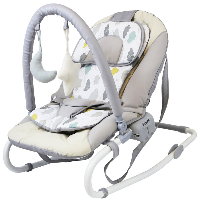 Baby Bouncer Rocker Feeding Relaxing Chair - Love Cloud