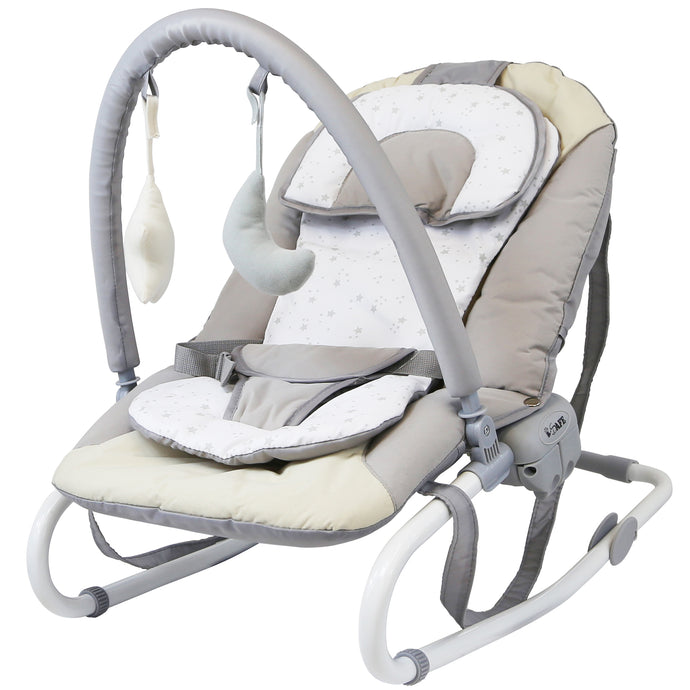 Baby Bouncer Rocker Feeding Relaxing Chair - Shiny Stars