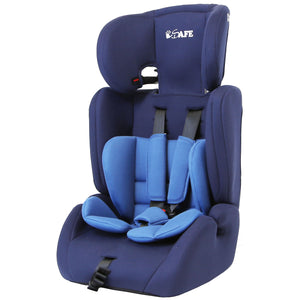 iSafe Value Comfort Baby Car Seat Group 1 2 3 Junior Trio Booster Seat - (Blue)