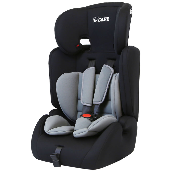 iSafe Value Comfort Baby Car Seat Group 1 2 3 Junior Trio Booster Seat - (Grey)