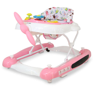 iSafe 2 in 1 Aero Walker And Rocker (Twilight Pink)