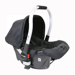 iSafe 3 in 1 Pram Travel System - (Black All In One)