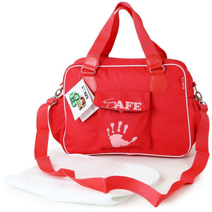 i-Safe Luxury Changing Bag - Red