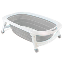 iSafe Flat Foldable Baby Bath - Grey, Pink, Lime, Light Pink, Aqua, Light Grey