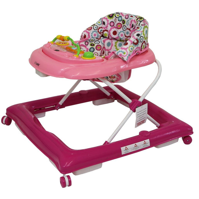 iSafe Play Time Baby Walker - Purple / Pink