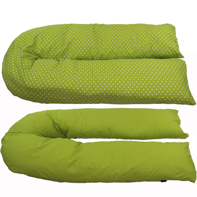 iSafe Large Pillow cover - Lime & Stars