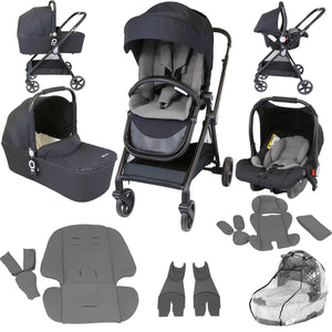 iStyle 3 in 1 Pram Travel System (Grey)