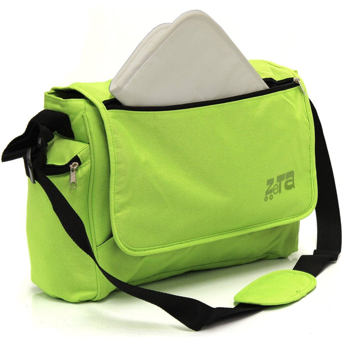 Luxury Bag & Changing Mat - Lime