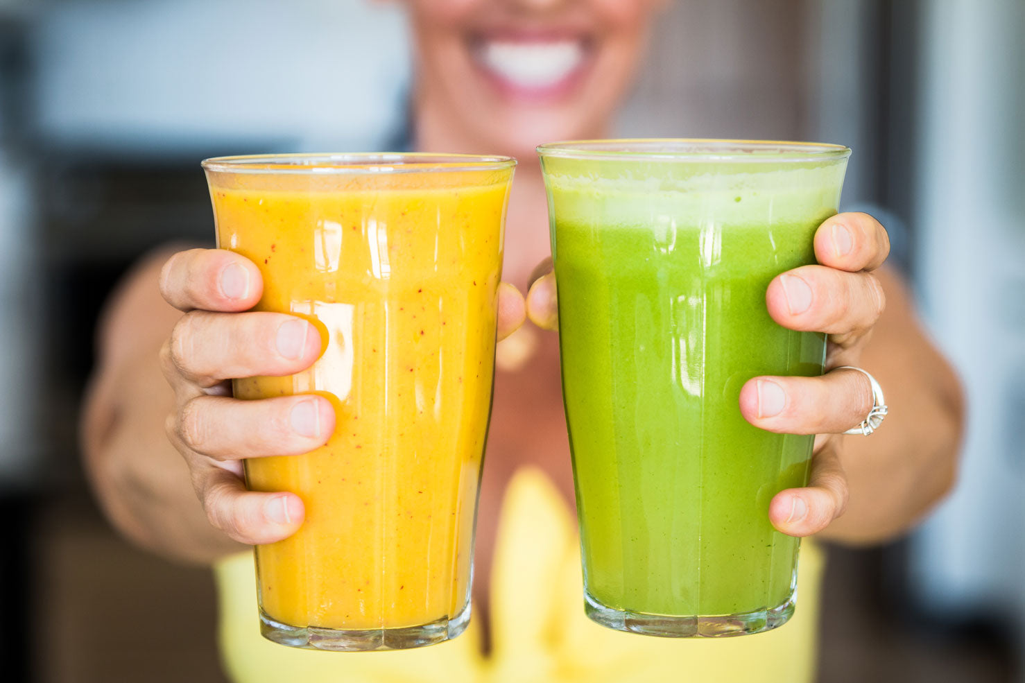 Smoothies Vs. Juicing