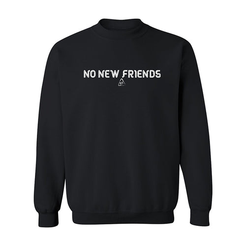 Bryce Xavier No New Friends crewneck sweatshirt in black