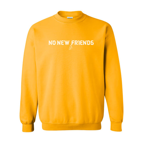 Bryce Xavier No New Friends crewneck sweatshirt in canary