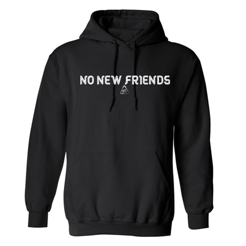 Bryce Xavier No New Friends hoodie in black