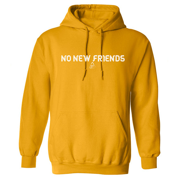 Bryce Xavier No New Friends hoodie in canary