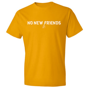 Bryce Xavier No New Friends shirt in canary