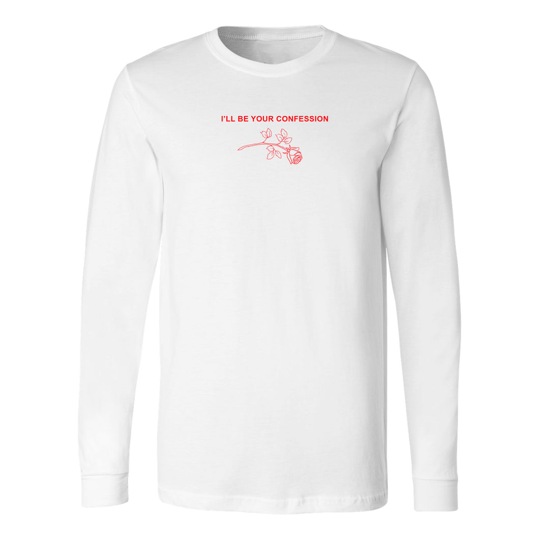 Confession long sleeve tee