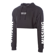 MISSING hoodie in black