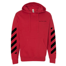 "Waud Twins ""Off-Waud"" Hoodie in Red"