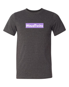 Waud Twins Shirt Purple/White