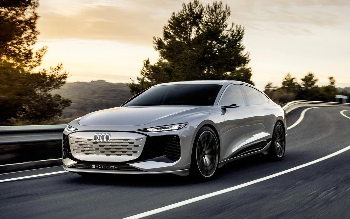 Audi A6 E-Tron Concept First Look: A Luxury Sedan Goes EV.