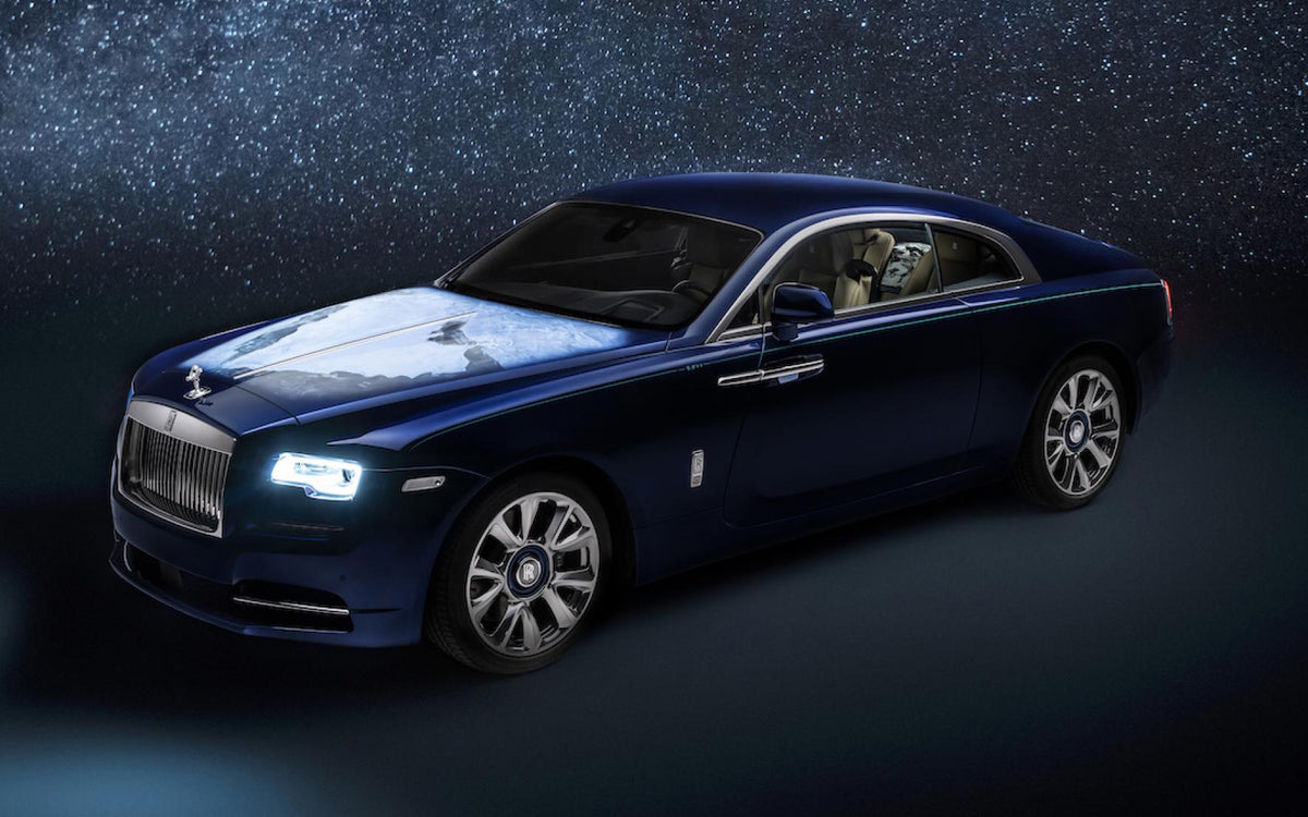 This bespoke Rolls-Royce Wraith celebrates the Earth.