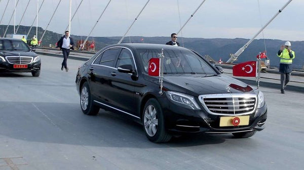 Mercedes Benz S600 - Turkey armoured cars