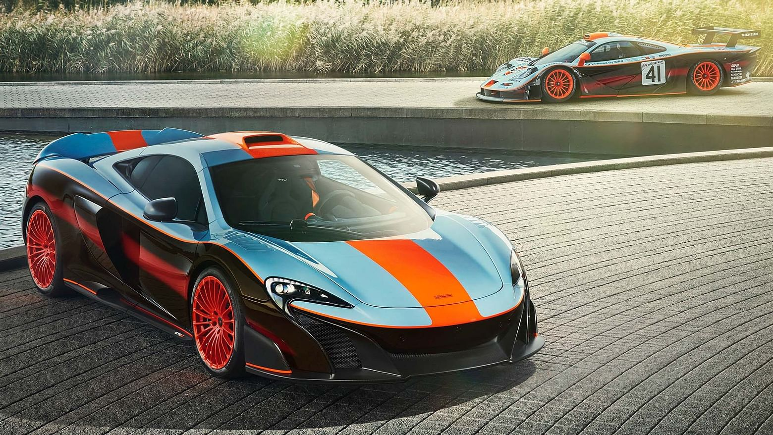McLaren with Ether on BitCars