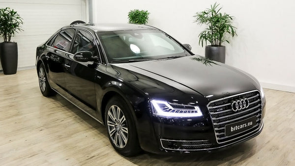 BitCars | Buy Audi A8 L Security with Bitcoin & crypto