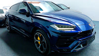 BitCars | Buy Lamborghini URUS Blue with Bitcoin & crypto