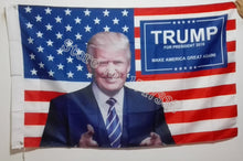Donald Trump 2016 Make America Great Again Flag Banner 3X5 FT with Banner brass metal holes