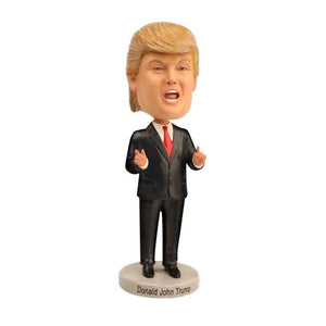 President Donald Trump Figurines Miniatures Collectible Model Toy Doll -  Home Office Decor Ornament