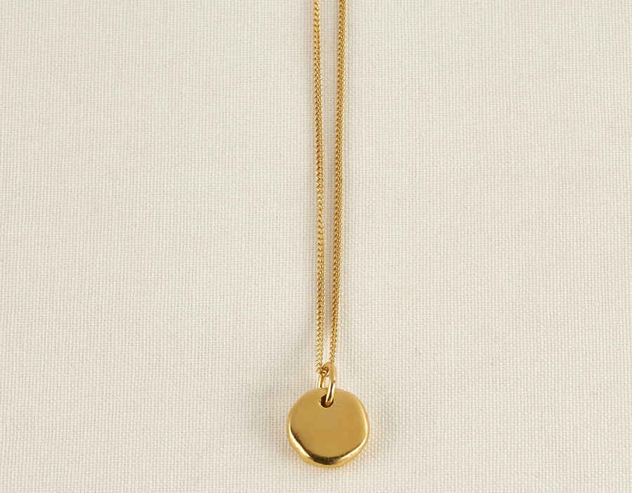 SPRING NECKLACE IN GOLD
