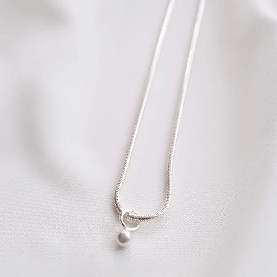 FLORA NECKLACE (silver)