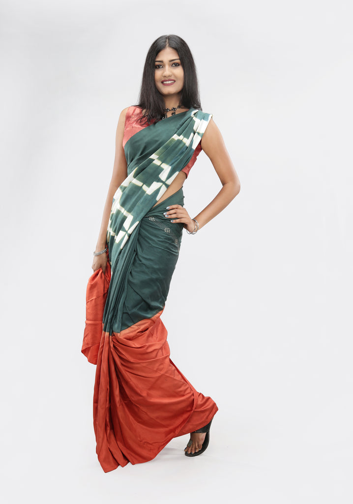 Sarees by Living Blue: Monsoon-Autumn 2019