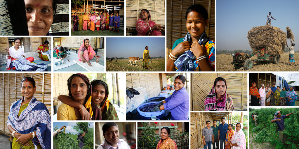 indigo farmers and artisans