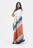 Living Blue Saree: Design-002