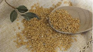 Organic Golden Flax seeds 16 oz