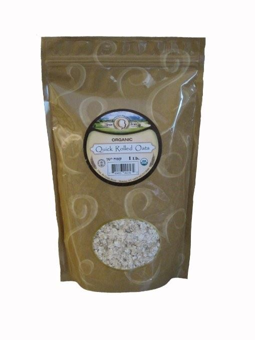Organic Quick Rolled Oats 12 oz